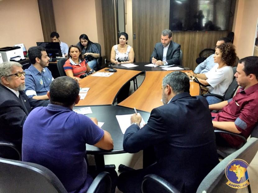 Diretoria Executiva e Conselheiros da Adepol/AM divulgam balanço 2016