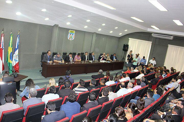 Adepol- Am participa da solenidade de anúncio sobre o pagamento da 3ª parcela do escalonamento