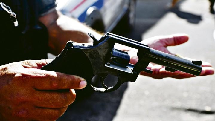 Flagrante de disparo de arma de fogo sem apreensão da arma
