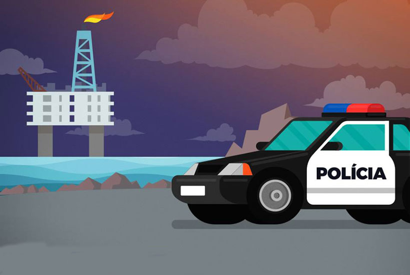 Comissão aprova destinação de parte dos royalties do petróleo para a segurança pública
