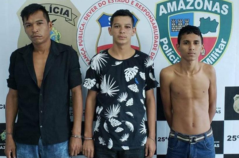 Delegado Ayslan Marques prende trio suspeito de assaltar a linha 418 no São José