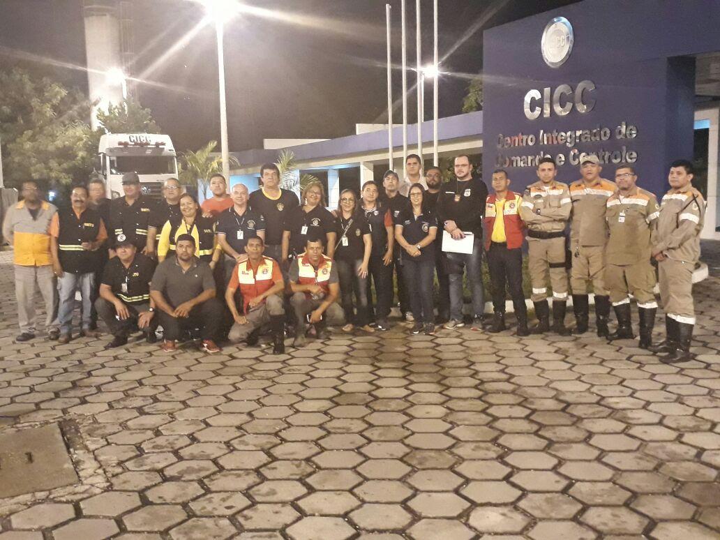 """Equipe de Comando integrado de Fiscalização garantindo a segurança da população no """"Carnaval Manaus Segura"""""""