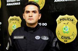 O delegado do Grupo Fera, Juan Valério, está em Lábrea em uma operação integrada que já prendeu oito pessoas suspeitas de integrar uma organização criminosa