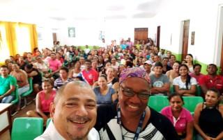 A Adepol/AM começou a ministrar palestras do Delegado Legal para sensibilizar pais e responsáveis no Educandário Santa Rita, localizado em Lábrea