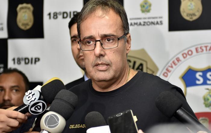 A Polícia Civil do Amazonas, por meio da equipe de investigação do 18º Distrito Integrado de Polícia (DIP), sob o comando do delegado Ivo Martins, titular da unidade policial, cumpriu na manhã desta quarta-feira (17), mandado de prisão, em razão de sentença condenatória por tráfico de drogas, em nome de Jesus Vieira Galvão, 32. De acordo com a autoridade policial, a ordem judicial foi expedida pela Comarca de Oriximiná, município do estado do Pará (PA).