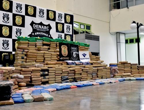 Denarc bate recorde de apreensão no AM; são mais de 6,5 toneladas